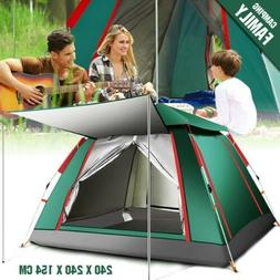 Large Pop Up Tent Camping Tent for Outdoor Hiking Fishing Wa