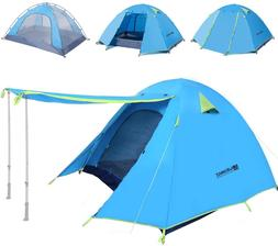 lightweight backpacking camping tent 2 4 person