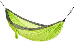 AmazonBasics Lightweight Double Camping Hammock, Lime Green/