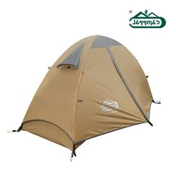 Lightweight four seasons mountaineering tent for one single