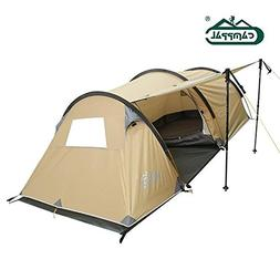 Camppal Professional mountain tent with unique tunnel shape