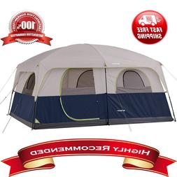 NEW Ozark Trail 14 X 10 Family Cabin Tent Sleeps 10 Camping