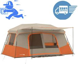 ~New~ Ozark Trail 141476A 11-Person Instant Cabin Tent with