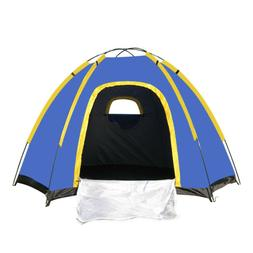 Waterproof 3-4 People Automatic Instant Pop Up Family Tent C