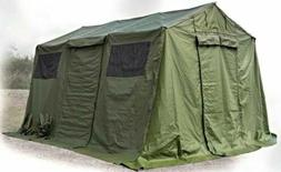 new in crate tent military hdt base