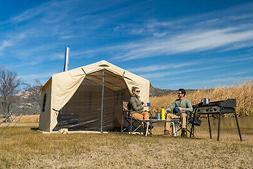 Ozark Trail 12x10 Wall Tent North Fork Outfitter with Stove