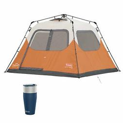 Coleman Outdoor 6 Person Instant Family Camping Tent & Camel