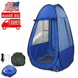 Outdoor Camping Single Pop-up Tent Pod Under Water Watching