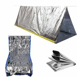 Outdoor Emergency Tent Blanket Sleeping Bag Survival Reflect