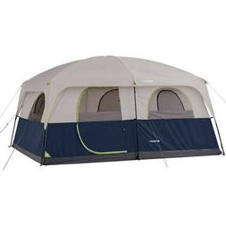 Ozark 10 Person 2 Room Cabin Tent Waterproof Rainfly Camping