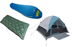 Alpinizmo High Peak USA Moffit 6 Men Tent + Ranger 20F & Sum
