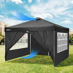 Pop-up 10'x10' Canopy Instant Outdoor Gazebo Camping Tent w/