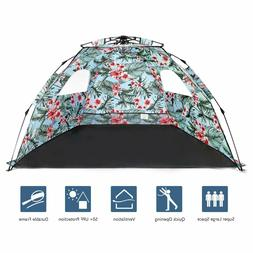 Pop Up Beach Tent Sun Shelter Easy Setup and Sun Protection