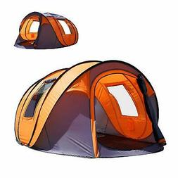 Oileus Pop Up Tent Family Camping Tents 4 Person Tent for Ca