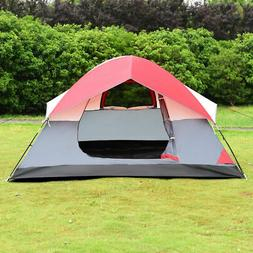 Portable 4 Person Family Tent Easy Set-up Outdoor Camping Hi