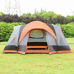 Portable 8 Person Automatic Pop Up Family Tent Easy Set-up C