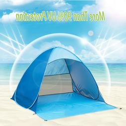 Pop Up Beach Tent Sun Shade Shelter Outdoor Camping Fishing