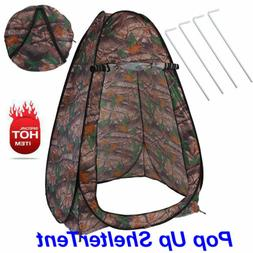 Portable Pop Up Tent Privacy Shelter Camping Beach Shower To