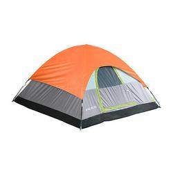 Tahoe Gear Powell 3 Person Dome Camping Frame Tent, Green an