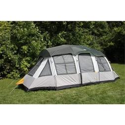 Tahoe Gear Prescott 12-Person 3-Season Tent, Blue/White | TG