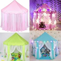Princess Castle Large Indoor/Outdoor Play House Play Tent fo