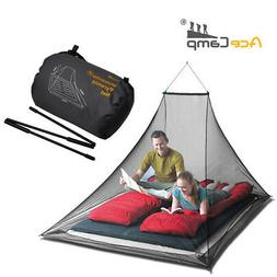 Pyramid Black Mosquito Net Insect Camping Tent Net for 2 per