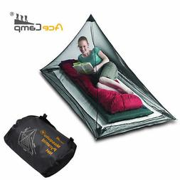 Pyramid Black Mosquito Net Insect Camping Tent Net for 1 per