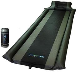 IFORREST Sleeping Pad with Armrest & Pillow - Ultra Comforta
