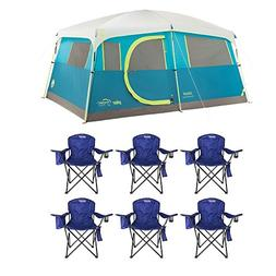 Coleman Tenaya Lake 8 Person Instant Cabin WeatherTec Campin