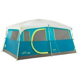 Coleman Tenaya Lake Fast Pitch 8 Person Cabin Tent with Clos