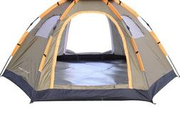 Tent For Outdoor Camping Hiking Large Capacity Pop Up High Q