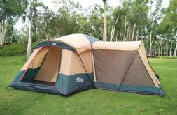 The sophisticated large cabin family tent from Camppal - pre
