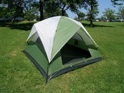 Three-Person Camping Dome Tent 7 Feet X 7 Feet One Touch Set