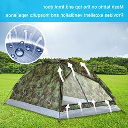 Outdoor 2 Person 4 Season Camping Hiking Waterproof Layer Fo