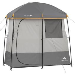 Ozark Trail 2-Room Non-Instant Shower Tent, Multicolor, Poly