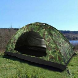 Travel Camping Camouflage Tent Outdoor Recreation Double Cou