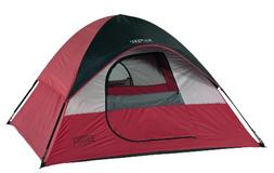 Wenzel Twin Peaks Sport Dome Tent, Red/Black
