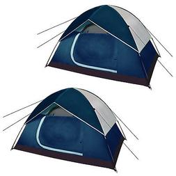 Two Backpacking Tents Outdoor Sports Tents Pop-up Camping Sh