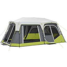 CORE Two Room 12 Person Instant Cabin Tent with Side Entranc