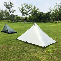 Ultralight Portable Pyramid Tent Waterproof for Outdoor Camp