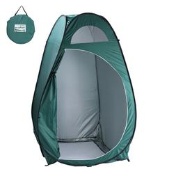 US Zipper Pop Up Tent For Changing Room Toilet Shower Campin