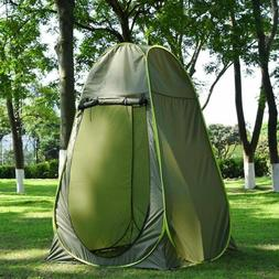 USPortable Outdoor Pop-up Shower Tent Camping Beach Toilet P