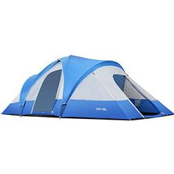 SEMOO Water Resistant 9-Person 3-Room Family Tent with Large
