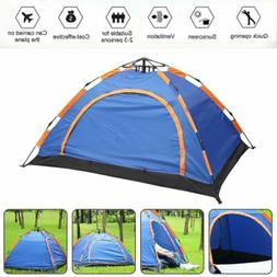 Waterproof 2-3 People Automatic Instant Pop Up Family Tent C