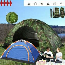 Waterproof 3-4/2/1 Person Automatic Instant Pop Up Outdoor C