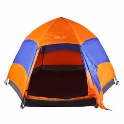 Waterproof 5-8 Person Camping Tent Automatic Pop Up Quick Sh