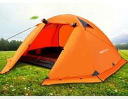 waterproof double layer professional outdoor camping winter