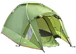MoKo Waterproof Family Camping Tent, Portable 3 Person Outdo