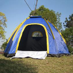Large Waterproof 3-4 People Instant Outdoor Family Tent Camp