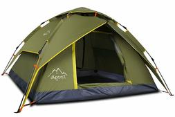 Toogh Waterproof Tent 2-3 Person Camping Tent Backpacking Te